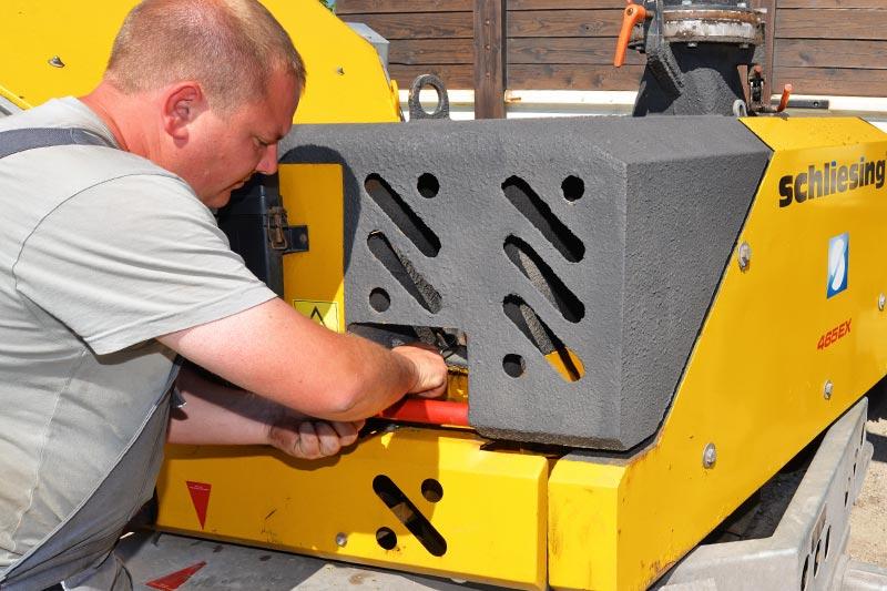 Reparatur und Service von Motorgeräten